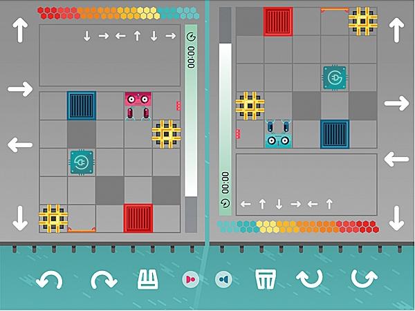 gra programowanie robotów magiczny dywan dla szkół
