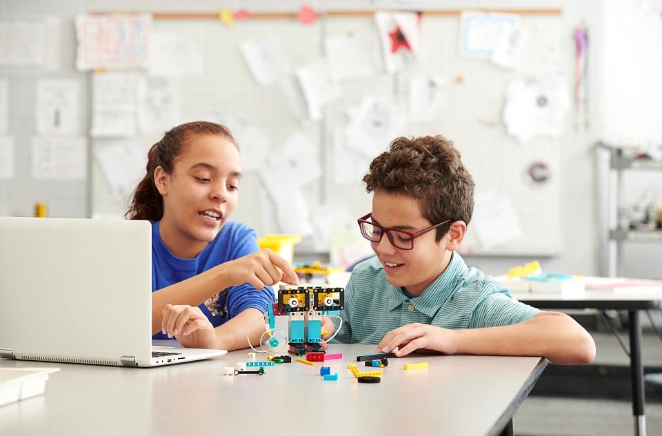 zajęcia stream lego education spike prime programowanie