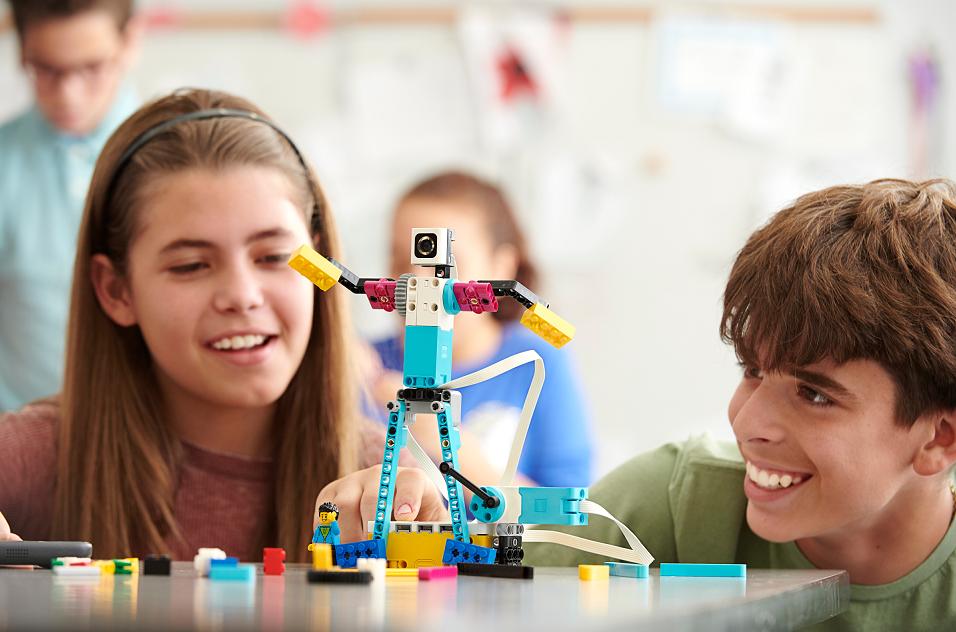zajęcia stream lego education spike prime